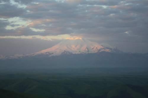 Вид с горы Бермамыт